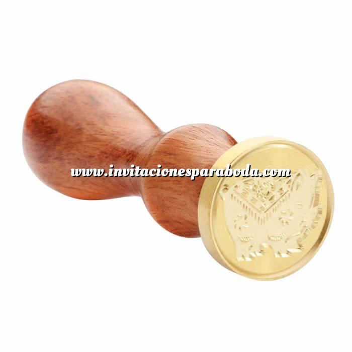 Imagen Diseños inmediatos Sello lacre mango largo - HOROSCOPO CHINO- Cerdo (Últimas Unidades)