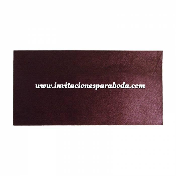 Imagen Sobre Americano DL 110x220 Sobre textura morado DL - Amaranto