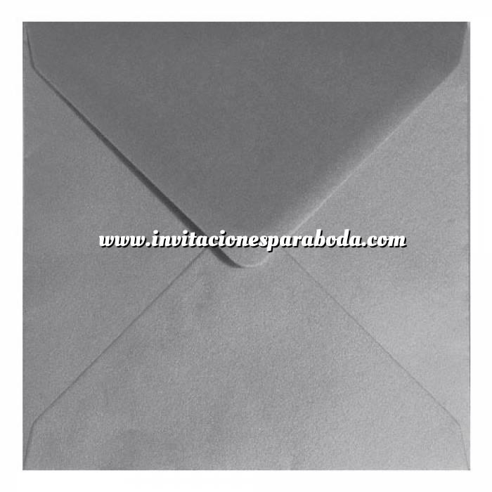 Imagen Sobres Cuadrados Sobre Plata Cuadrado Metálico