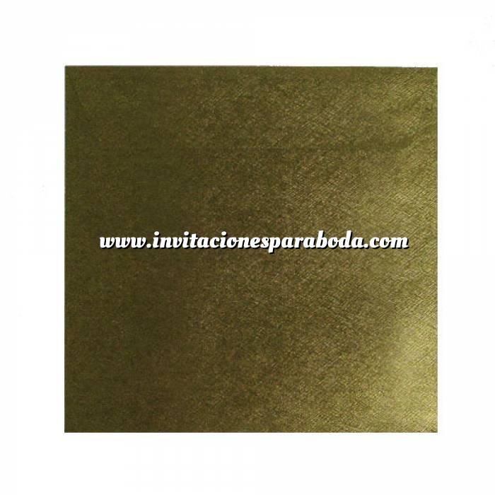 Imagen Sobres Cuadrados Sobre textura dorado Cuadrado