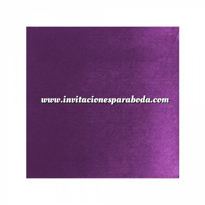 Imagen Sobres Cuadrados Sobre textura morado Cuadrado - Violeta