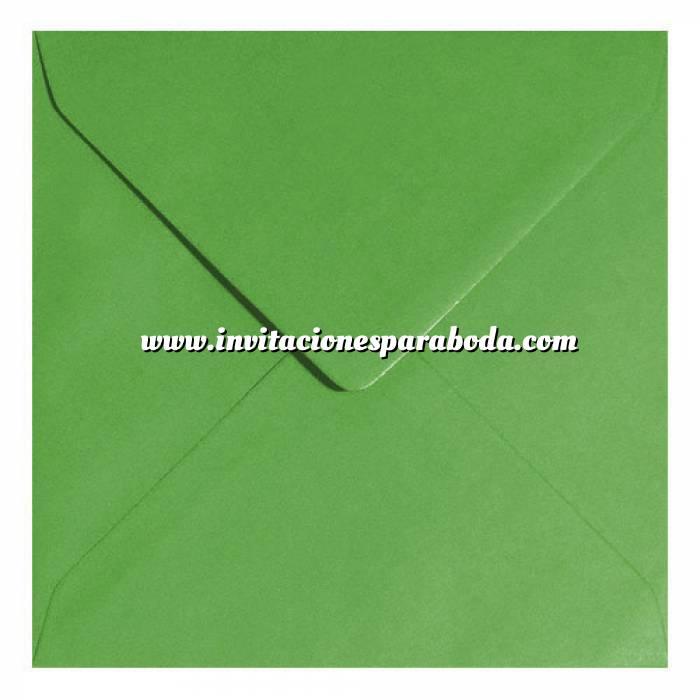 Imagen Sobres Cuadrados Sobre verde Cuadrado - Verde Helecho
