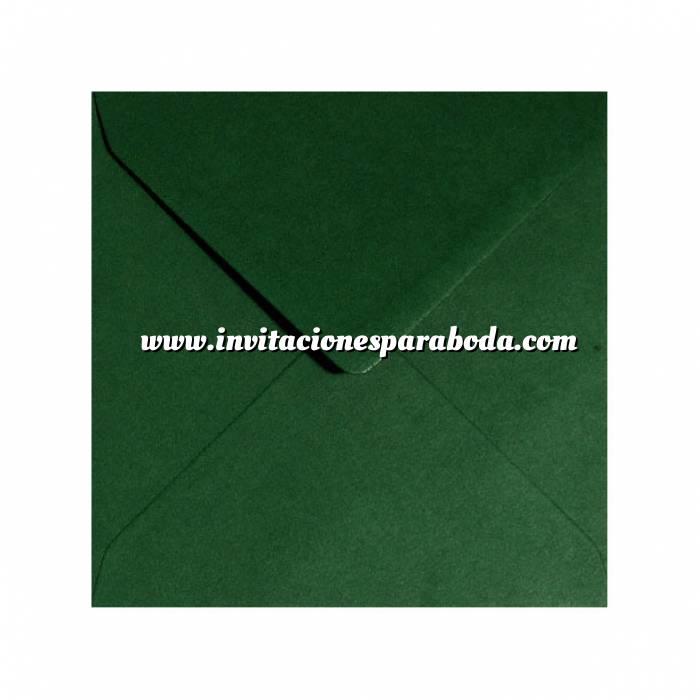 Imagen Sobres Cuadrados Sobre verde botella Cuadrado - Verde Bosque (Últimas Unidades)