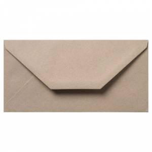 Sobre Americano DL 110x220 - Sobre Marrón Kraft textura Reciclado DL