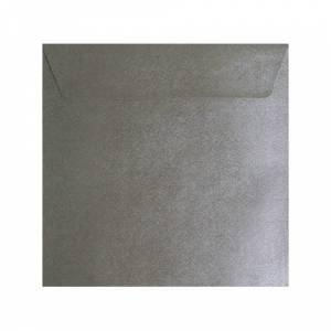 Sobres Cuadrados - Sobre textura plata Cuadrado